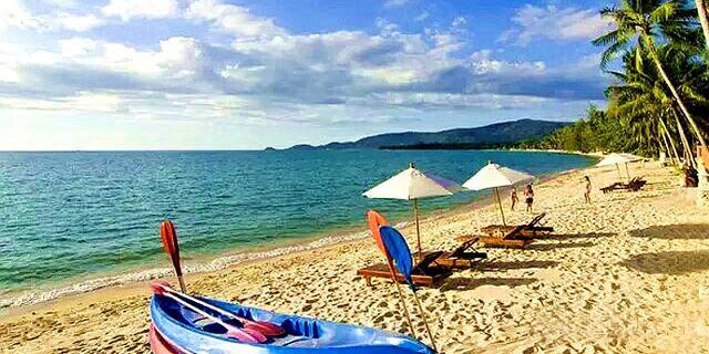 世界最美海滩:额布里
