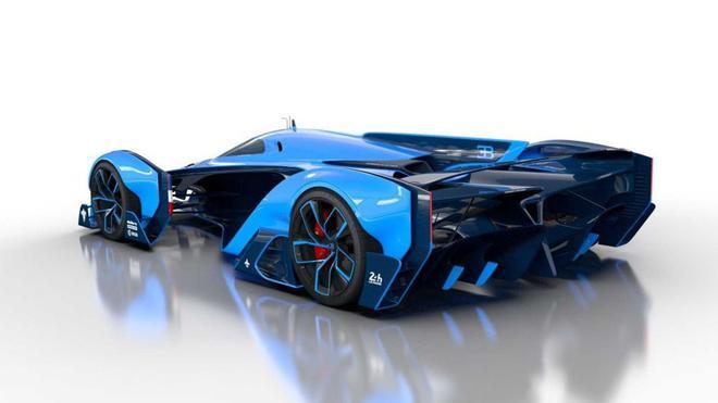 布加迪官网发布神秘超跑预告图 采用亮眼的X形尾灯设计