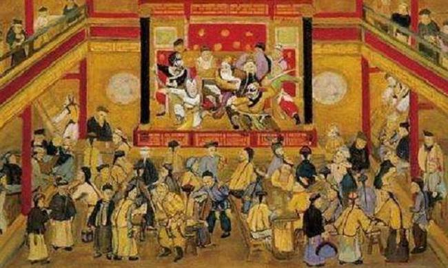 清代京师的梨园行是怎样的景况?