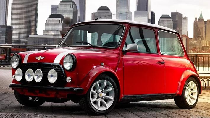 电动MINI概念车官图发布 造型复古不量产