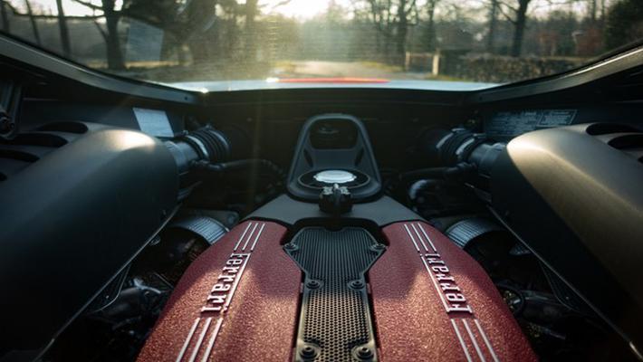 法拉利将推全新V8混动车型 2019法兰克福车展首发
