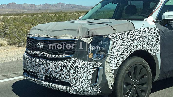 起亚将推全新中大型SUV 搭混动系统/明年亮相