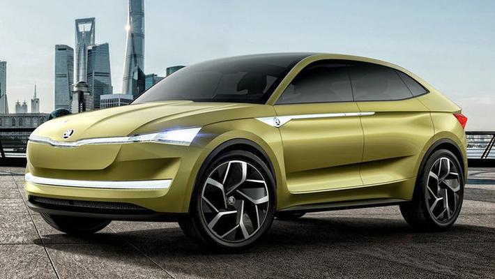 斯柯达启动新SUV战略-连推3款 轿跑/电动全都有