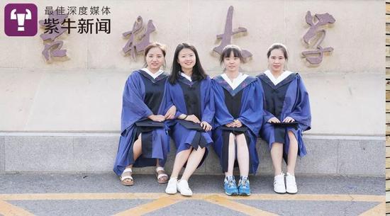 江梦南的毕业照
