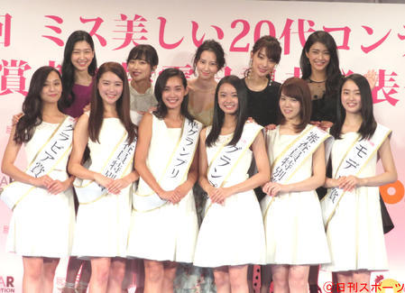 第二屆20代美女選秀頒獎現場