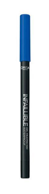 巴黎欧莱雅恒放溢彩持色防晕彩色眼线胶笔1.2ml 90元