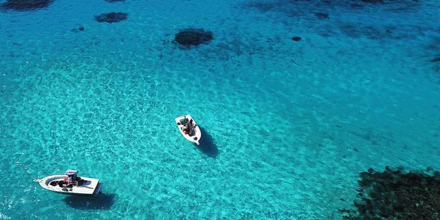 塞班自驾游,看晶莹剔透的海水