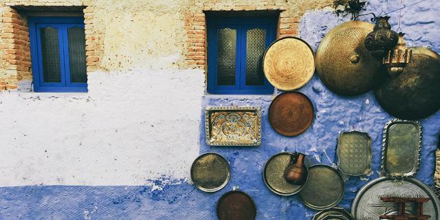 非洲童话,蓝色之城舍夫沙万