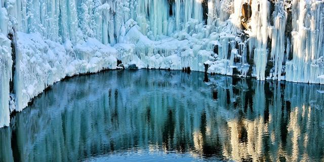 走近中国最美冰瀑