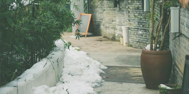 雪后初晴的杭州