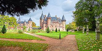 荷兰最大最美的城堡