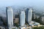 锡东第一高楼结顶 锡东板块吹响总部经济号角