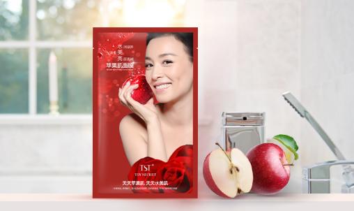 深入肌肤锁水保湿,用TST苹果肌面膜给肌肤做次高级SPA