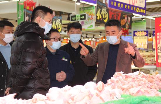 梅村街道开展春节前安全生产大检查