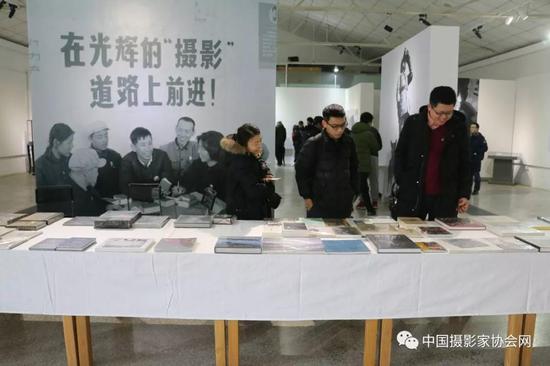 北京798映画廊展览现场图一