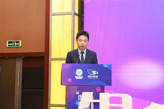 △伯科生物科技有限公司总经理张茂华作获奖人才代表发言