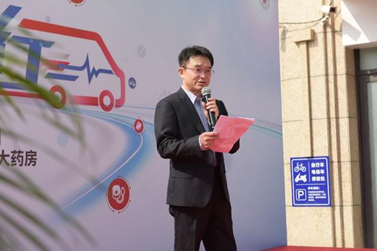中国健康促进基金会秘书长夏禹富