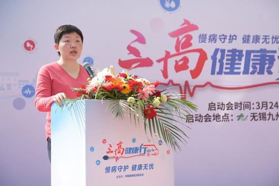 阿斯利康零售业务部市场执行总监陈晓枫女士