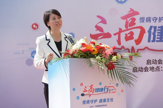 爱康集团副总经理、导医通运营副总经理王旭女士