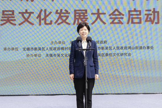 无锡市委常委、高新区党工委书记、新吴区委书记蒋敏