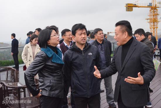 刘霞副市长听取阳羡溪山项目建设情况介绍