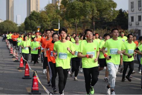 工商银行无锡分行携手江南大学举办2020校园马拉松
