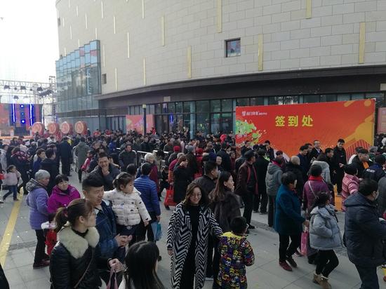 江阴移动优质网络助力南门印象商业中心盛大开业