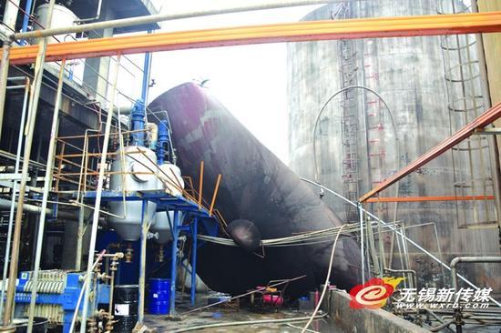 无锡一工厂罐体发生爆炸 幸无人员伤亡