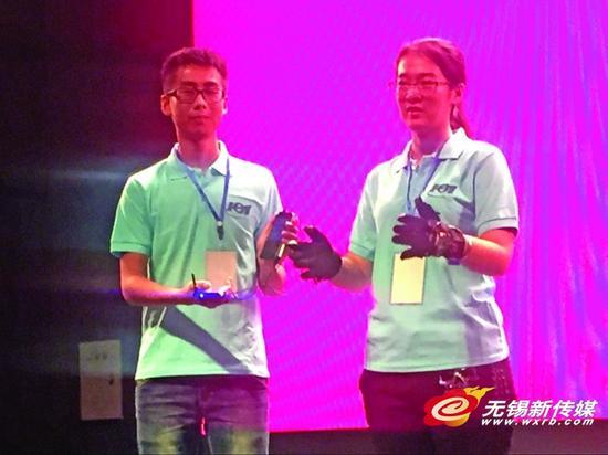 第三届全国高校物联网应用创新赛:翻译手套独揽特等奖