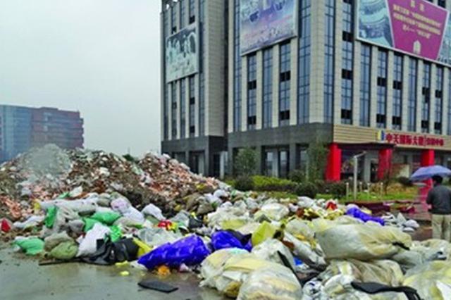 层层转包偷倒垃圾被罚款 处理还需选择正规运输单位