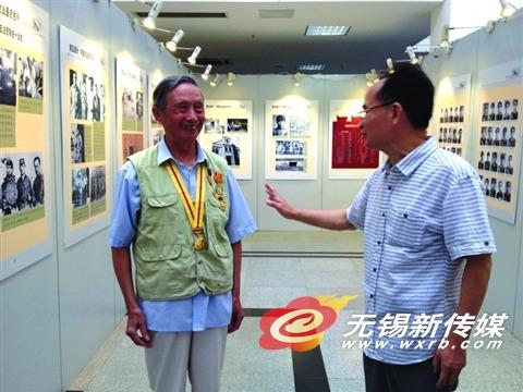 《新四军在江苏》图片展在锡开幕 披露数百张抗战老照片