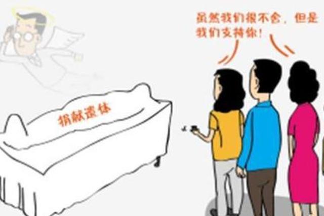 惠山六位老人集体签署了遗体捐献书 相约离世后捐献遗体