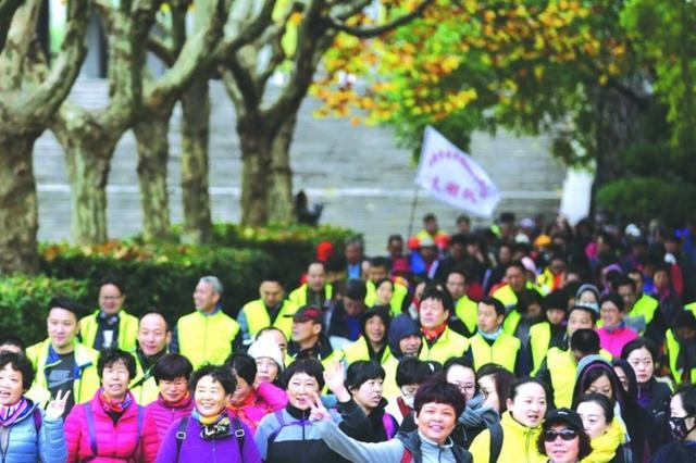 文明风尚科学健身 冬季趣味健步在寒风中拉开帷幕