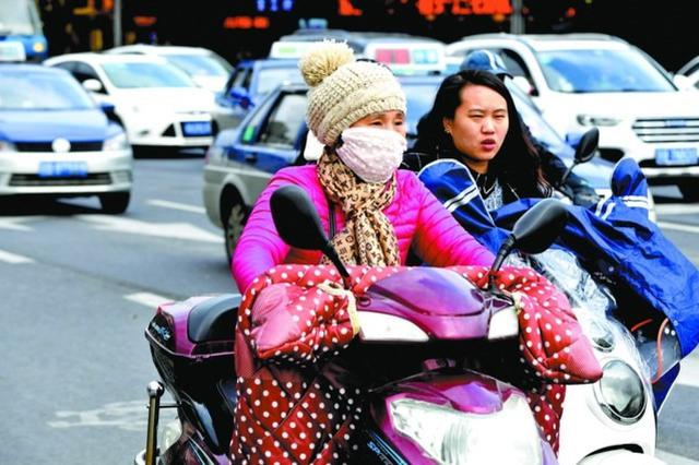 最低气温仅有4℃左右 锡城冷空气来势猛