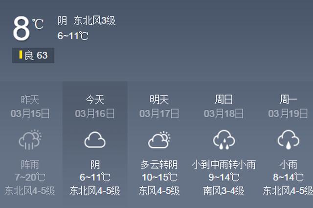 """今起冷空气""""发威"""" 后天""""雨神""""对接"""