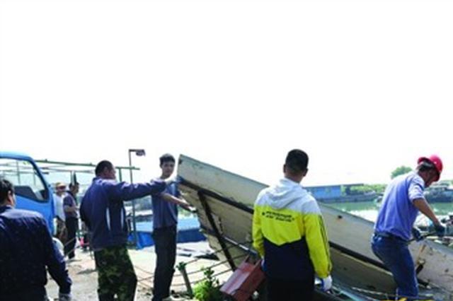 """滨湖最大露天无证水产市场被取缔  """"小溪港水产市场""""不复存"""