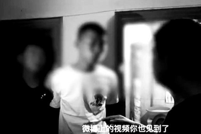 北京双井打人男否认专门学搏击 已被刑拘