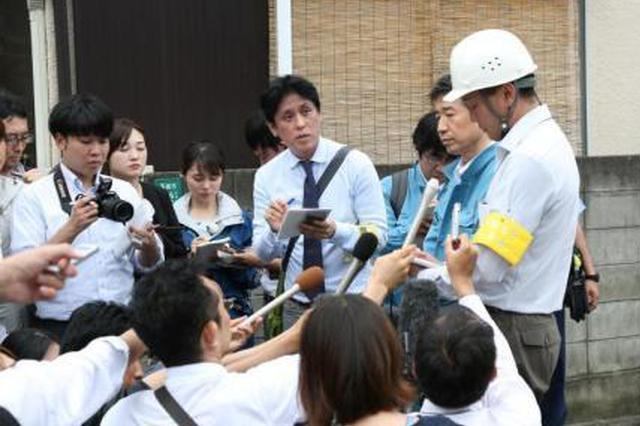 日本大阪强震已致5人死亡 气象厅呼吁警惕滑坡灾害