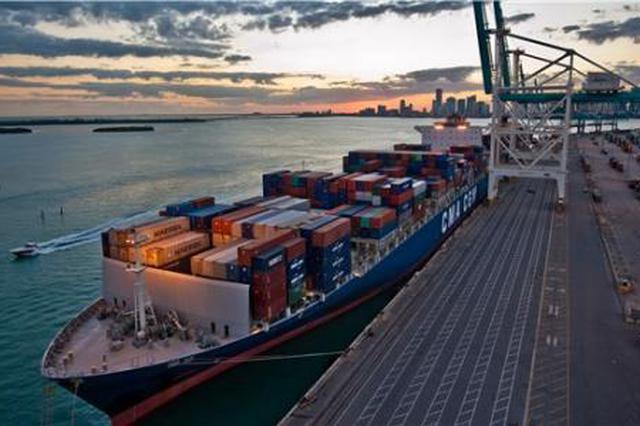 江苏省外贸进口增速远超出口 前7月进出口同比增8.7%
