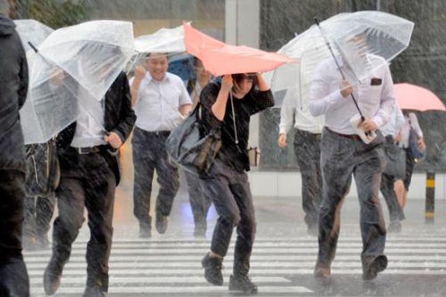 """""""温比亚""""带来暴雨 今起风雨减小"""