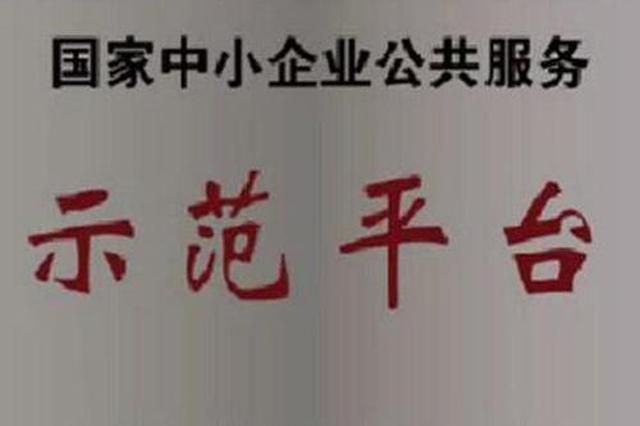 江苏10企业入选国家中小企业公共服务示范平台