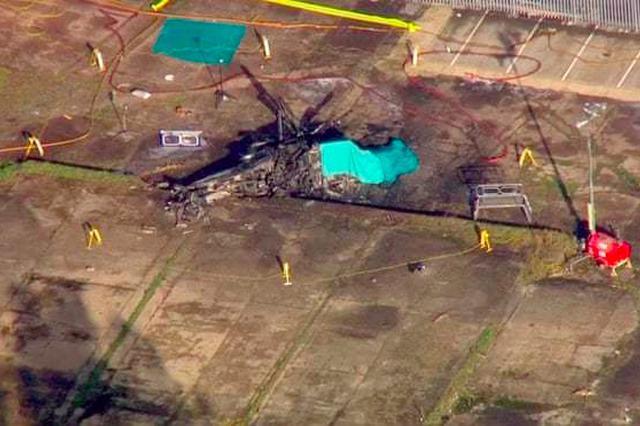 维猜坠机原因系机械故障 飞机从131米高空笔直下落