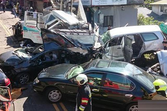 湖南境内高速路发生22车相撞事故 已致5死18伤