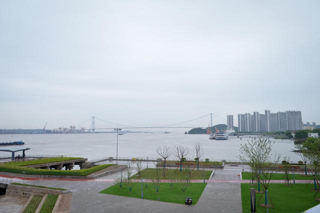 韭菜港变身亲水公园 江阴外滩成为又一张靓丽的城市名片