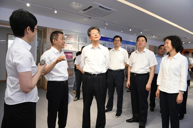 中华全国总工会领导到红豆集团考察调研