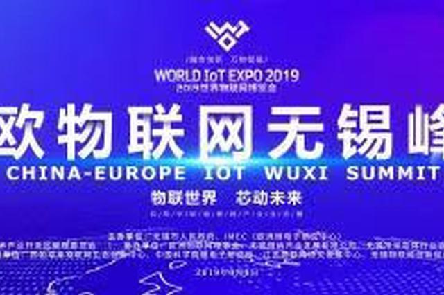 2019世界物联网博览会中欧物联网(无锡)峰会正式启幕