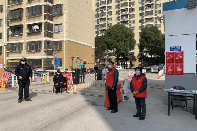 """梅村街道数百名党员志愿者""""疫""""无反顾护家园安全"""