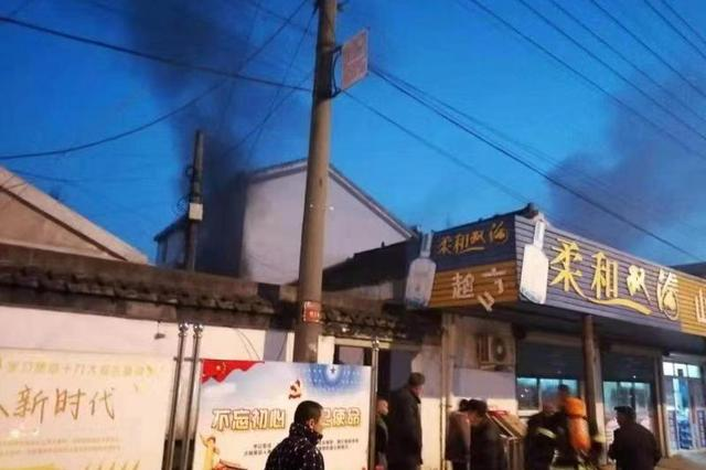 无锡影视基地专职消防队成功处置一起周边村民住宅火情