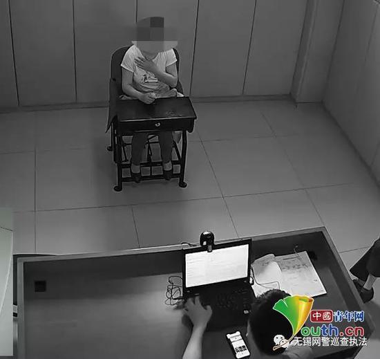 该女子已被刑拘图片来源:江苏网警巡查执法微信公号