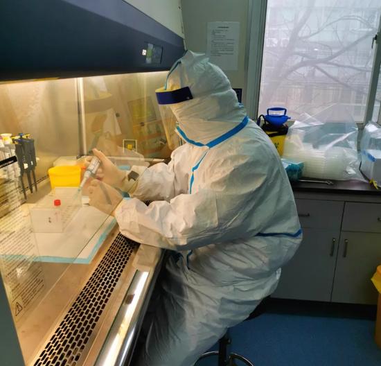 邹国华在实验室